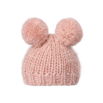 best-firends-knitted-hat-w-2-pompom-heather